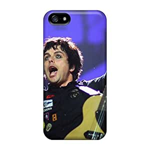 AlissaDubois Iphone 5/5s Perfect Cell-phone Hard Cover Custom High Resolution Green Day Pictures [wVH11734DQkA]