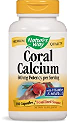 Nature's Way Coral Calcium 600 mg w/Vita...