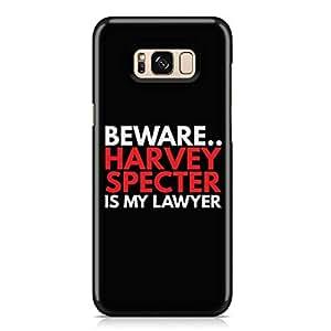 Samsung S8 Case Suits Case BEWARE HARVEY Unique design Favourite Tv shows Samsung Samsung S8 Cover Wrap Around