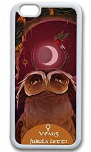 Cute owl animal Easter Thanksgiving Masterpiece Limited Design tpu white Case for iphone 6 by Cases & Mousepads by ruishername