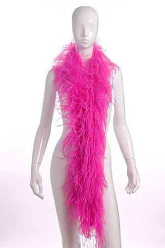 N 2 Plies Ostrich Boas Hot Pink