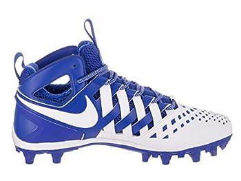 Nike Men's Huarache V Lax Game Royalwhitewhite Cleated Shoe 10 Men Us 4