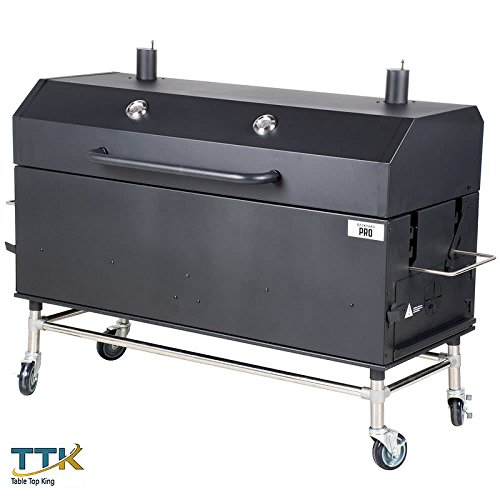Tabletop king 60'' Charcoal / Wood Smoker by tabletop king