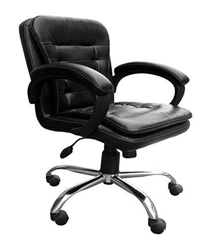 Yasmin Babar Medium Back Executive Office Chair Seat Flap