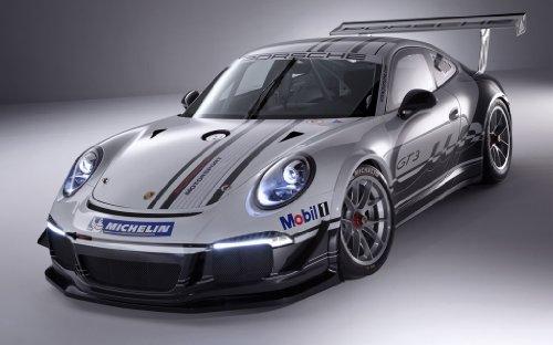 2013 Porsche 911 Gt3 Cup 24X36 Poster Banner (Gt3 Cup Porsche)