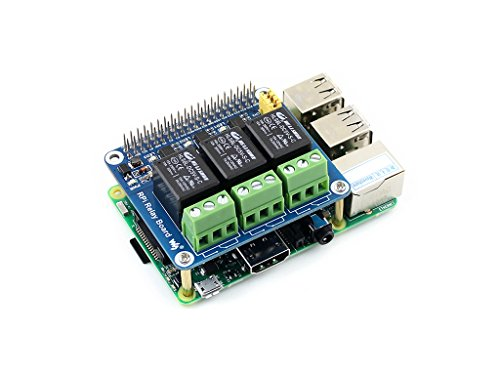 Raspberry Pi Power Relay Board Expansion Board Module for Raspberry Pi A+/B+/2B/3B Loads up to 250VAC/5A,30VDC/5A by waveshare (Image #3)'