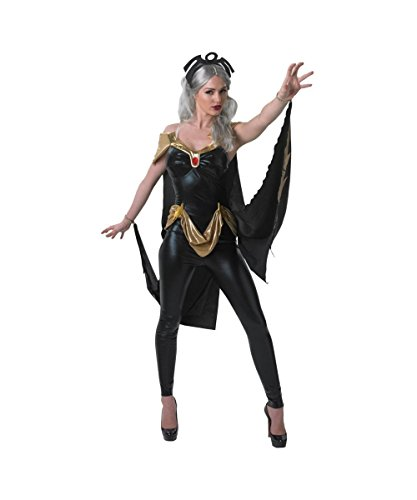 [Marvel X?men Sexy Storm Catsuit Womens Halloween Cosplay Costume] (Storm Costume Cosplay)