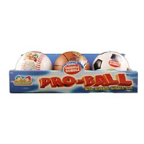 DUBBLE BUBBLE PRO BALLKEYRING & CANDY 12 COUNT by DUBBLE BUBBLE PRO BALLKEYRING & CANDY 12 COUNT