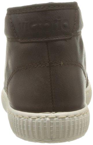 Victoria Chukka Piel - Zapatillas de Deporte de cuero Unisex marrón