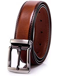 Men's Leather Belt Handmade Vegetable Tanned Leather