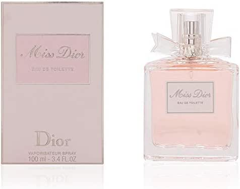 Miss Dior by Christian Dior for Women 3.4 Ounce EDT Spray
