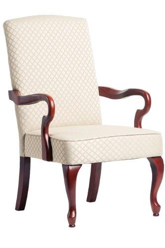 (Comfort Pointe Derby Goose Neck Accent Chair - Beige)