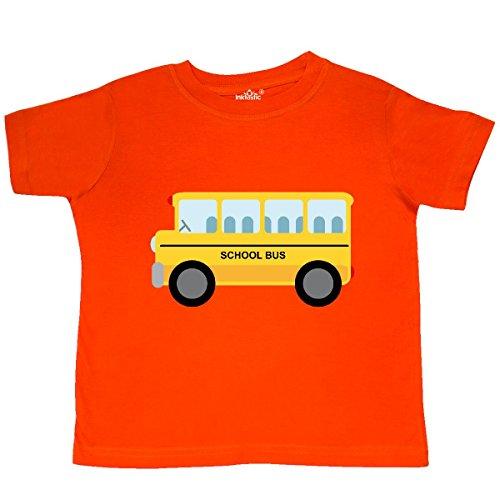 inktastic - School Bus Toddler T-Shirt 3T Orange (Toddler Tee School)