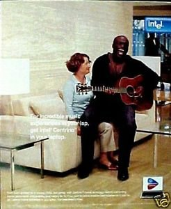 print-ad-for-2005-intel-centrino-computers-with-seal-singing-originalprint-ad