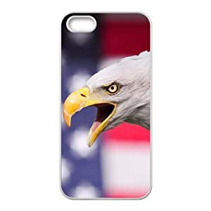 New Fashion Cover Case for iPhone 5,5S with custom Eagle