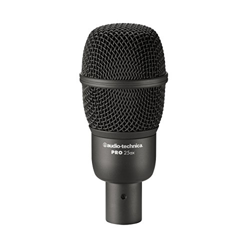 Audio-Technica PRO 25ax Hypercardioid Dynamic Instrument Microphone by Audio-Technica