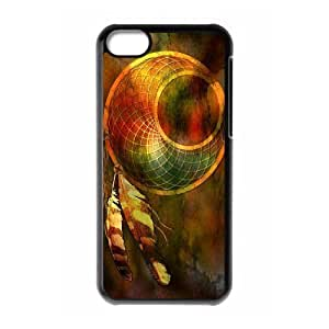 linJUN FENGProtection Cover Hard Case Of Dream Catcher Cell phone Case For iphone 5/5s