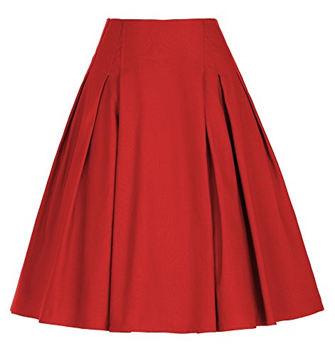 Womens A-line No Pleat Skirt - 2