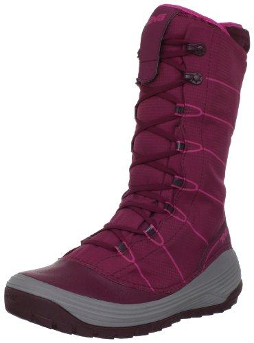 Jordanelle red Teva W's color Pink Gris nieve Rosa beet Botas 740 de dqFwqv