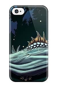 Cute High Quality Iphone 4/4s Sleepy Dragon Fantasy Abstract Fantasy Case