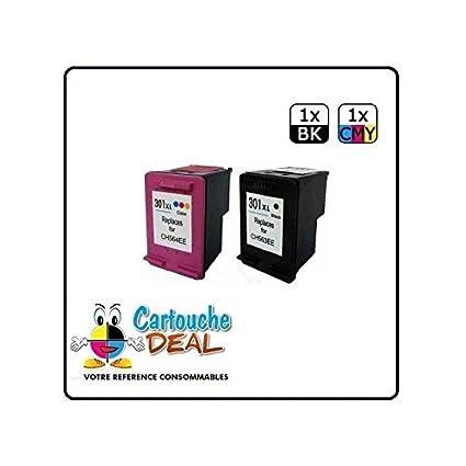 Cartouche Deal - Lote de 2 cartuchos de tinta para impresora HP ...