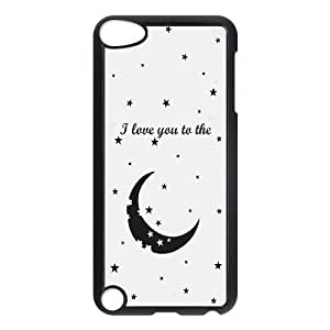 QWSPY MR RIGHT couple Love My Crazy Girlfriend Boyfriend Phone Case For Ipod Touch 5 [Pattern-3]