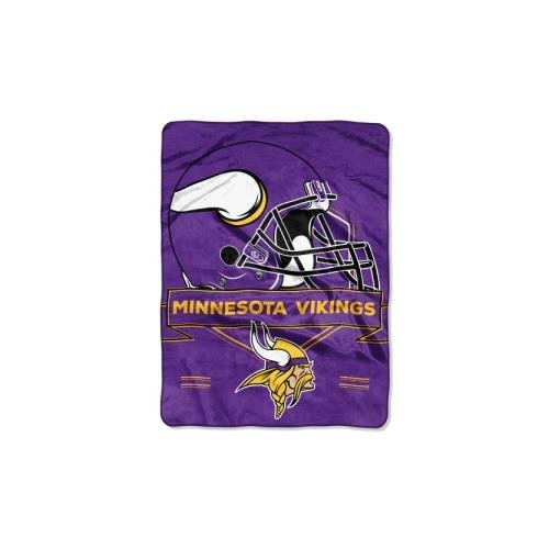 - The Northwest Company NFL Minnesota Vikings Prestige Plush Raschel Blanket, 60