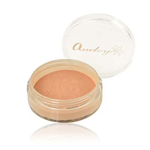 - Natural matte mineral loose powder foundation organic cruelty free chemical free vegan gluten free makeup for perfect coverage no shine smooth appearance sweat proof breathable (5gm) (Tan)