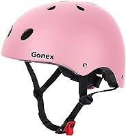 Gonex Skateboard Helmet, CPCS Certified Head Protection Gear for Kids, Youth & Adults Removable Sweatsaver