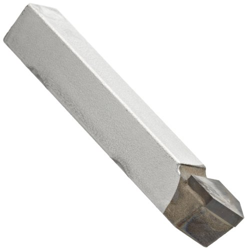 American Carbide Tool Carbide-Tipped Pointed Nose Lathe Tool Bit, D Style, Neutral Hand, C4 Grade, 0.375'' Square Shank, D 6 Size by American Carbide Tool