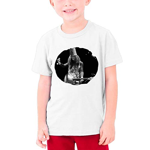 (TheresaT.Clodfelter Young Buckethead Summer Moisture Wicking Cotton Concert Basketball Short Sleeves T Shirts Gift)