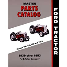 1939 1950 1951 1952 1953 FORD TRACTOR Parts Book List