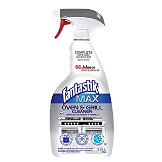 SC Johnson Professional, Fantastik Max Oven & Grill Cleaner Spray, Cleans Inside and Out, 32 Oz