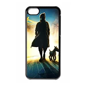 The Adventures of Tintin iPhone 5c Cell Phone Case Black xlb-167060