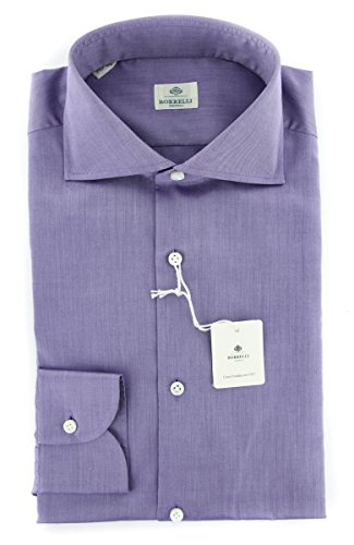 new-luigi-borrelli-purple-solid-extra-slim-shirt