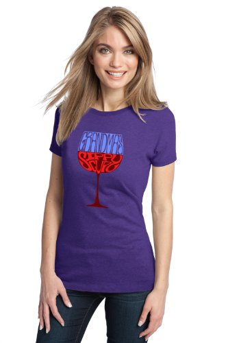 GRANDMA'S SIPPY CUP Ladies' T-shirt / Funny Wine Drinking Humor Tee