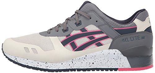 ASICS Men's Gel-Lyte Iii NS Fashion Sneaker, Off-White/India Ink, 12 M US