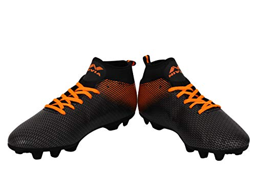 Nivia 454O Synthetic Pro Carbonite Football Stud, UK 10 (Orange) Price & Reviews