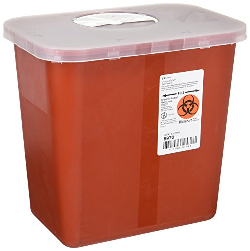 2 Gallon Biohazard Container - Containers Sage Sharps