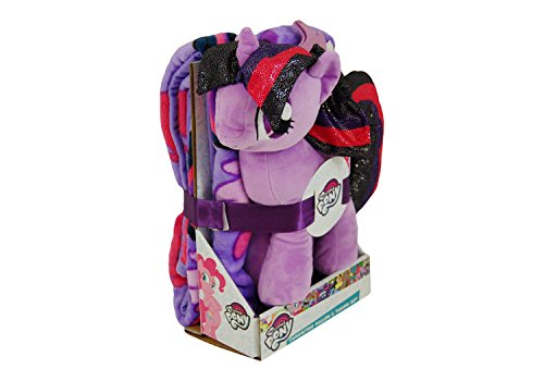 My Little Pony Twilight Dance Hugger & Silk Touch Throw Set Girls Gift - Throw Twilight Pillow