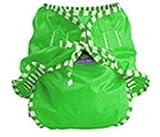 Kushies Swim Diaper, Medium - Green