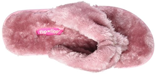 Rose Fur Flip 2320 flop dusty Chaussons Original Femme w8qXqZE