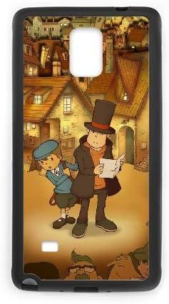 D4W33 El profesor Layton y la caja de Pandora W6I9SK funda Samsung Galaxy Note 4 carcasa del teléfono celular Funda Cubierta Negro AG4ALD8WD: Amazon.es: Electrónica