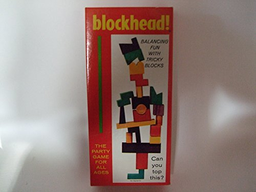Vintage The Party Game Blockhead! Are You A Blockhead? - 1954 Saalfield