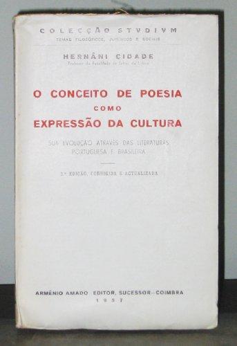 O Conceito de Poesia como Expressao da Cultura