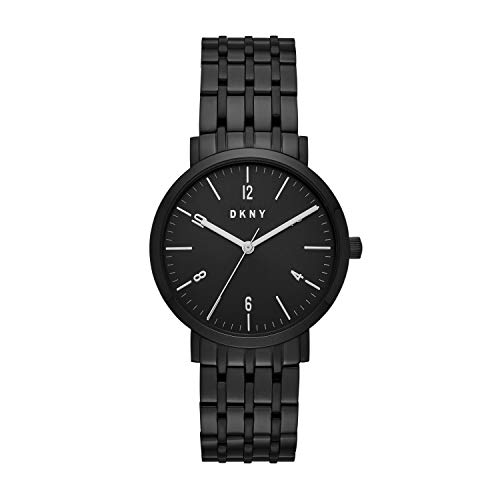 - DKNY Women Minetta Quartz Stainless Steel Black with Black Dial Watch NY2612
