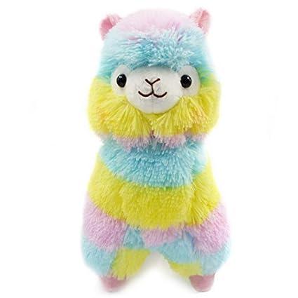 BBsmile 13 CM de Colores Kawaii Alpaca Llama Arpakasso Regalo de Muñeca de Peluche Suave Juguetes