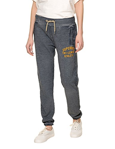 Superdry Women's Tri League Relaxed Joggers Women's Trackpants in Size XS Navy by Superdry