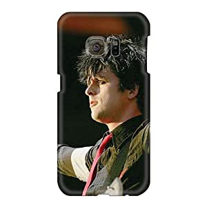 Samsung Galaxy S6 ZHs1468lCVd Provide Private Custom Attractive Green Day Band Skin Protector Hard Cell-phone Case -JasonPelletier