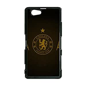 Sony Xperia Z1 Compact Chelsea FC Phone Case,Official Popular Chelsea Football Club Logo Design High Quality Case Cover